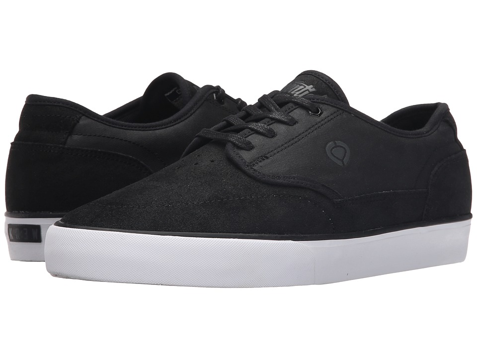 Circa - Essential (Black/Kr3w) Men's Skate Shoes