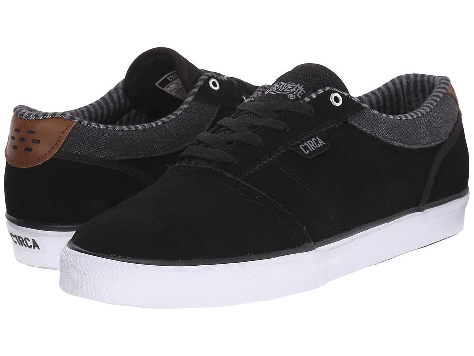 Circa - Goliath (Black/Frost Gray) Men's Shoes