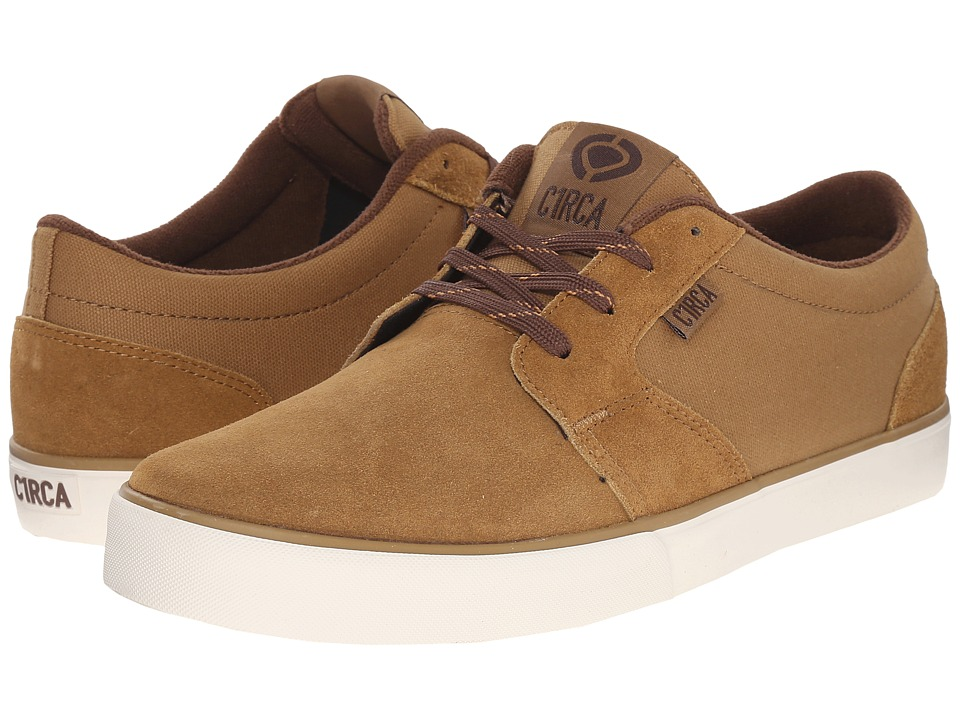 Circa - Hesh 2.0 (Camel/Pinecone) Men's Skate Shoes
