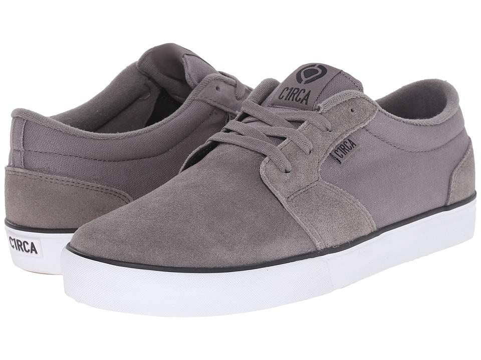 Circa - Hesh 2.0 (Frost Gray/Black) Men's Skate Shoes