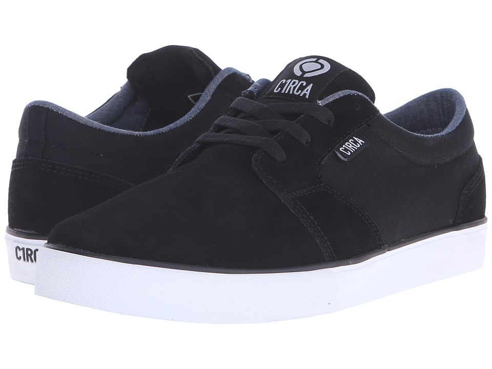 Circa - Hesh 2.0 (Black/White) Men's Skate Shoes