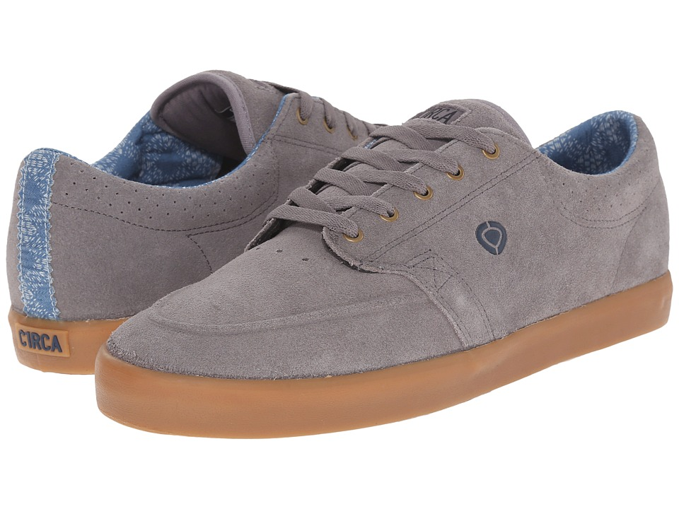 Circa - Transit (Frost Gray/Dark Blue) Men's Skate Shoes