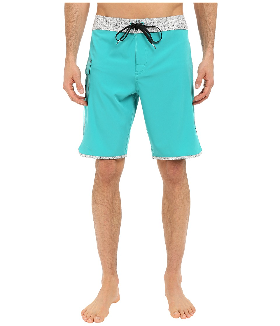 RVCA - Eastern 20 Trunks (Lake Blue) Men's Swimwear