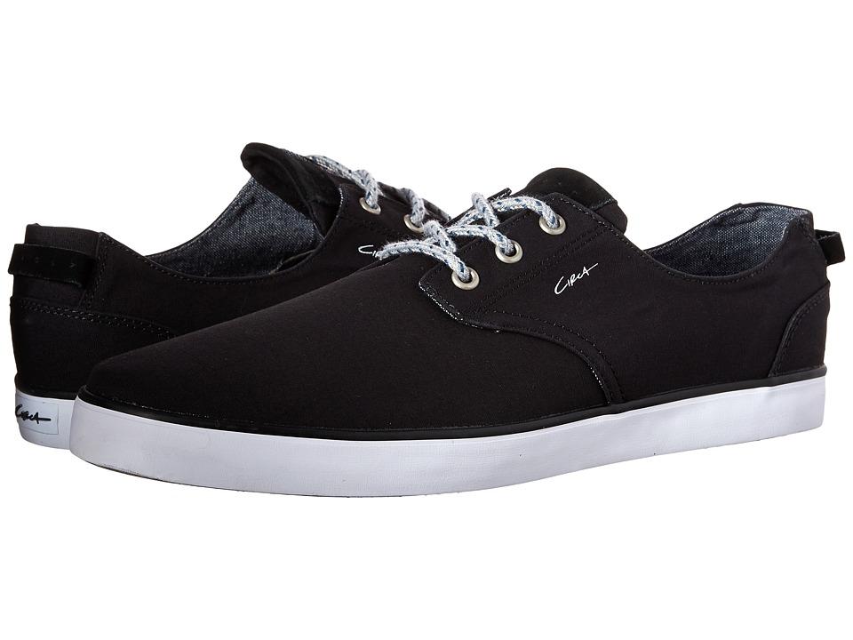 Circa - Harvey (Black/Real Teal) Men's Skate Shoes