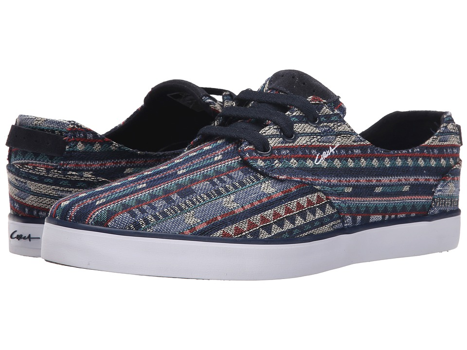 Circa - Harvey (Native/Dress Blues) Men's Skate Shoes