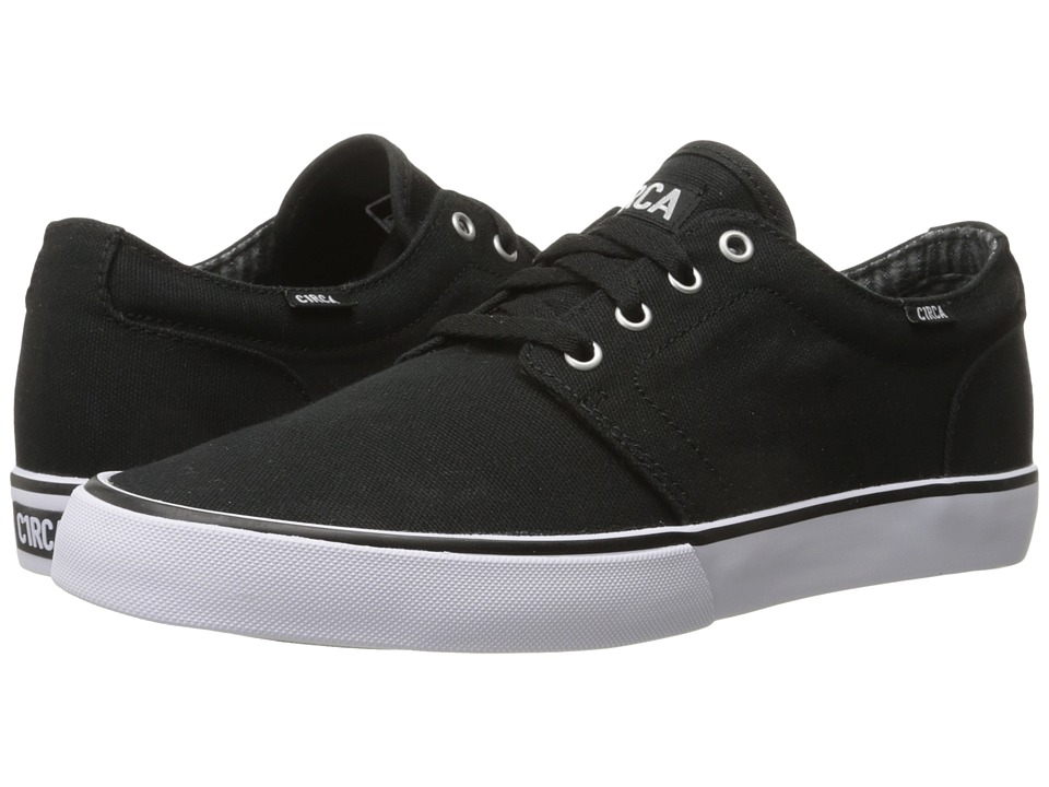 Circa - Drifter (Black/White 1) Men's Skate Shoes