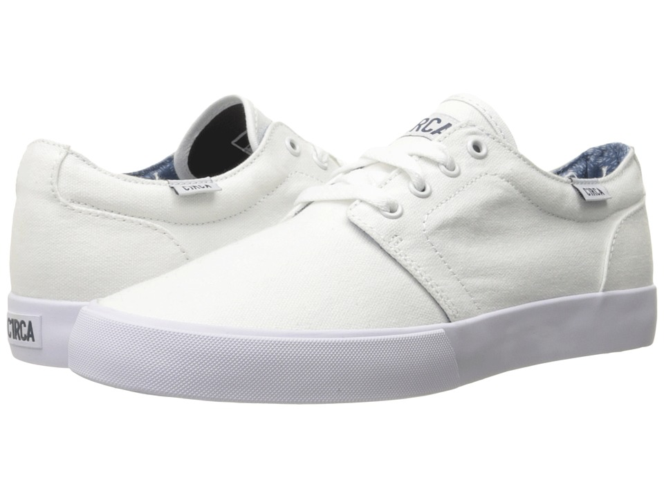Circa - Drifter (White/Dark Denim) Men's Skate Shoes