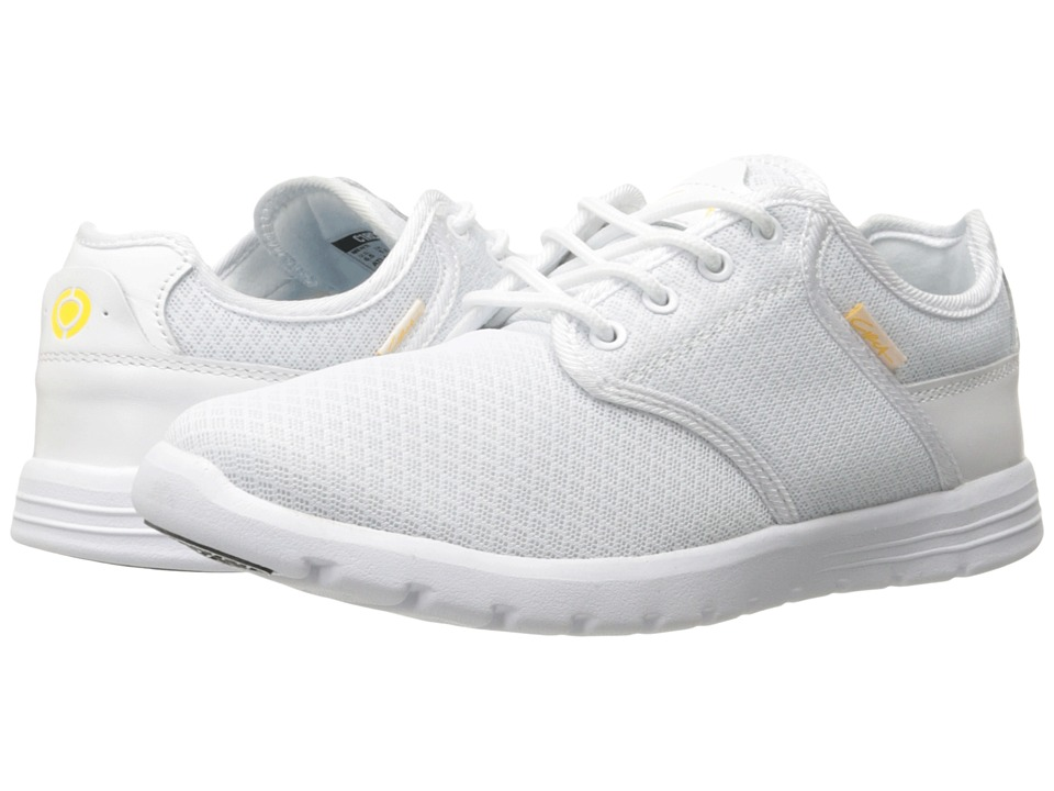 Circa - Atlas (White/Gold) Men's Skate Shoes
