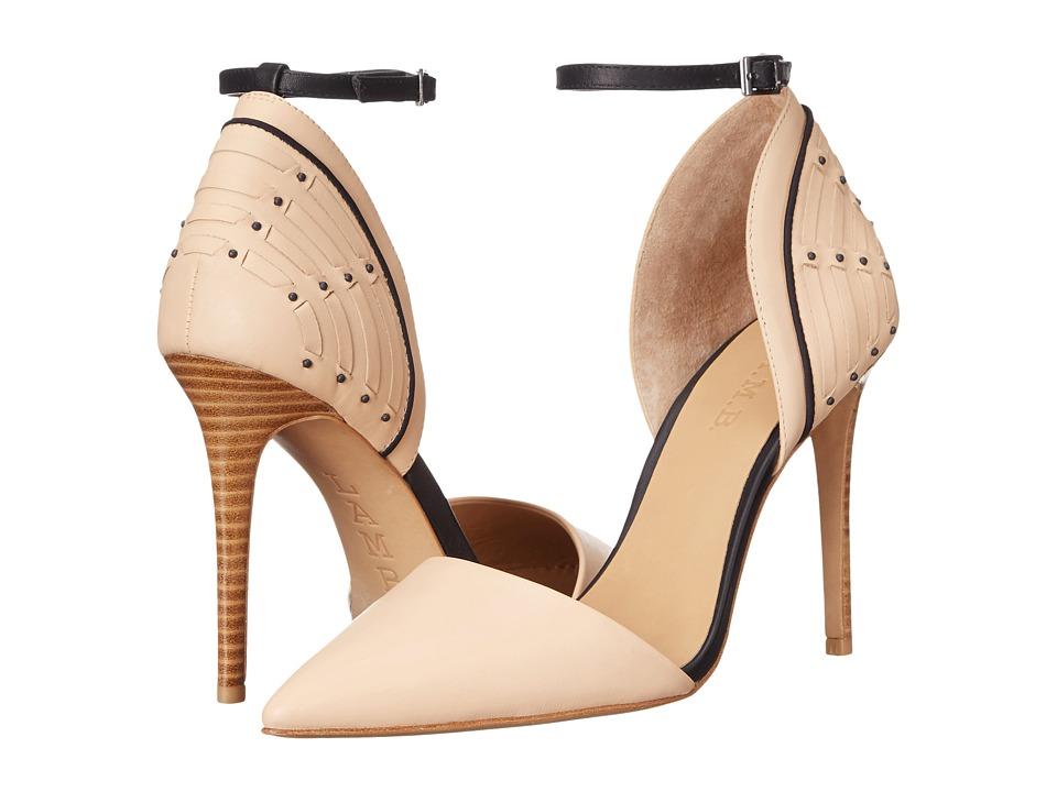 L.A.M.B. - Hamden (Nude/Blue) High Heels