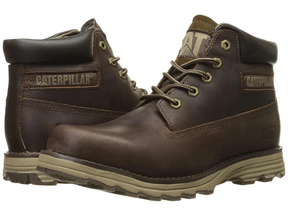 Caterpillar Founder (Dark Brown) Men