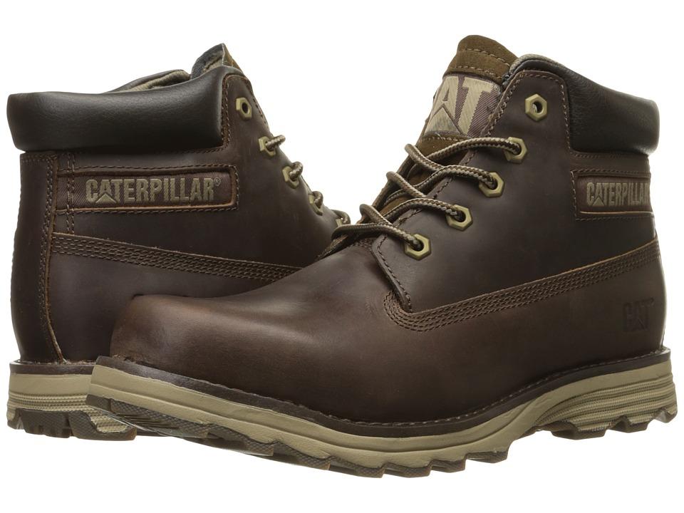 Caterpillar Founder (Dark Brown) Men