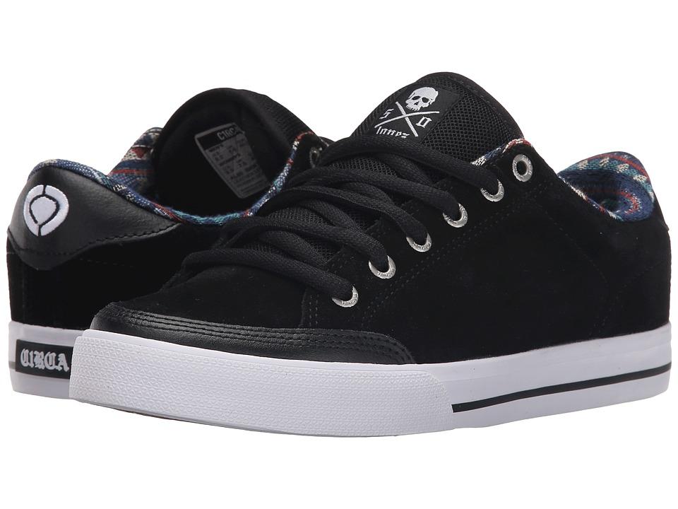 Circa - Lopez 50 (Black/Native) Men's Skate Shoes