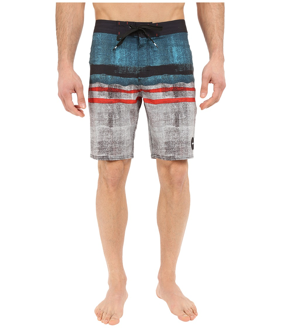 RVCA - Barracuda Trunks (Black) Men's Shorts