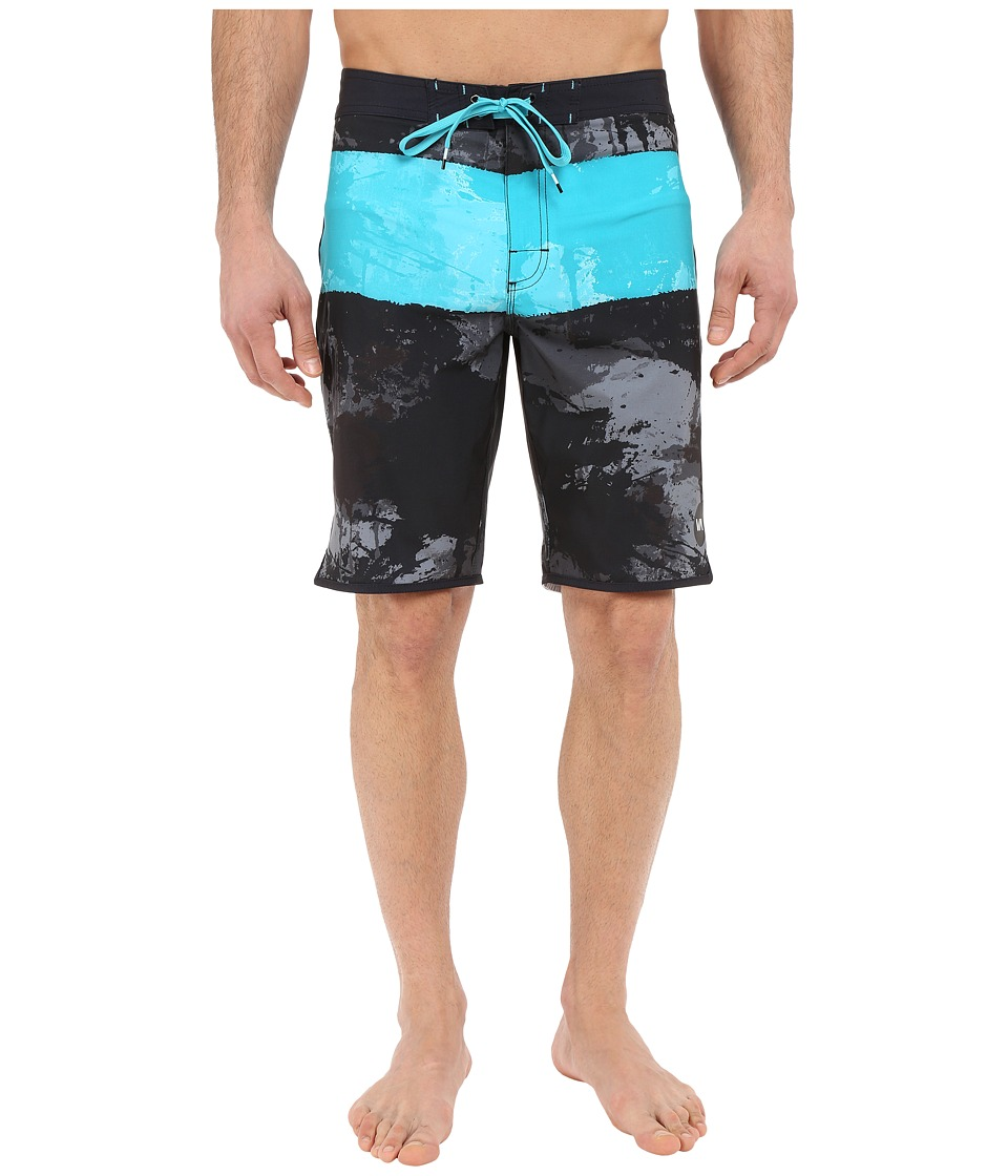 RVCA - Splice Trunks (Black) Men's Swimwear