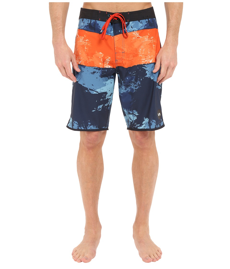 RVCA - Splice Trunks (Midnight) Men's Swimwear