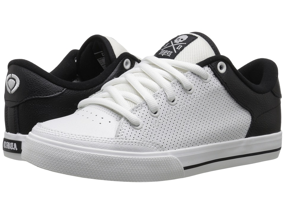 Circa - Lopez 50 (White/Black 1) Men's Skate Shoes