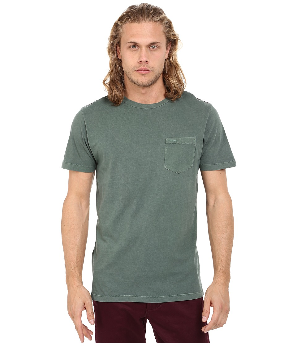 RVCA - PTC2 Pigment Knit (Duck Green) Men's T Shirt