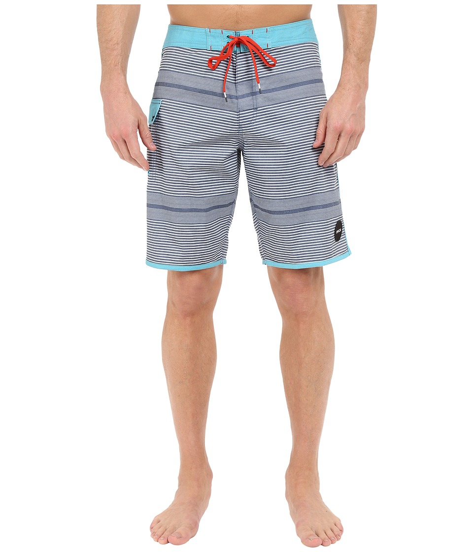 RVCA - Vector Trunks (Lake Blue) Men's Shorts