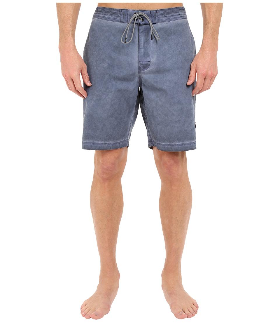 RVCA - Wanderer 19 Trunks (Dark Denim) Men's Swimwear