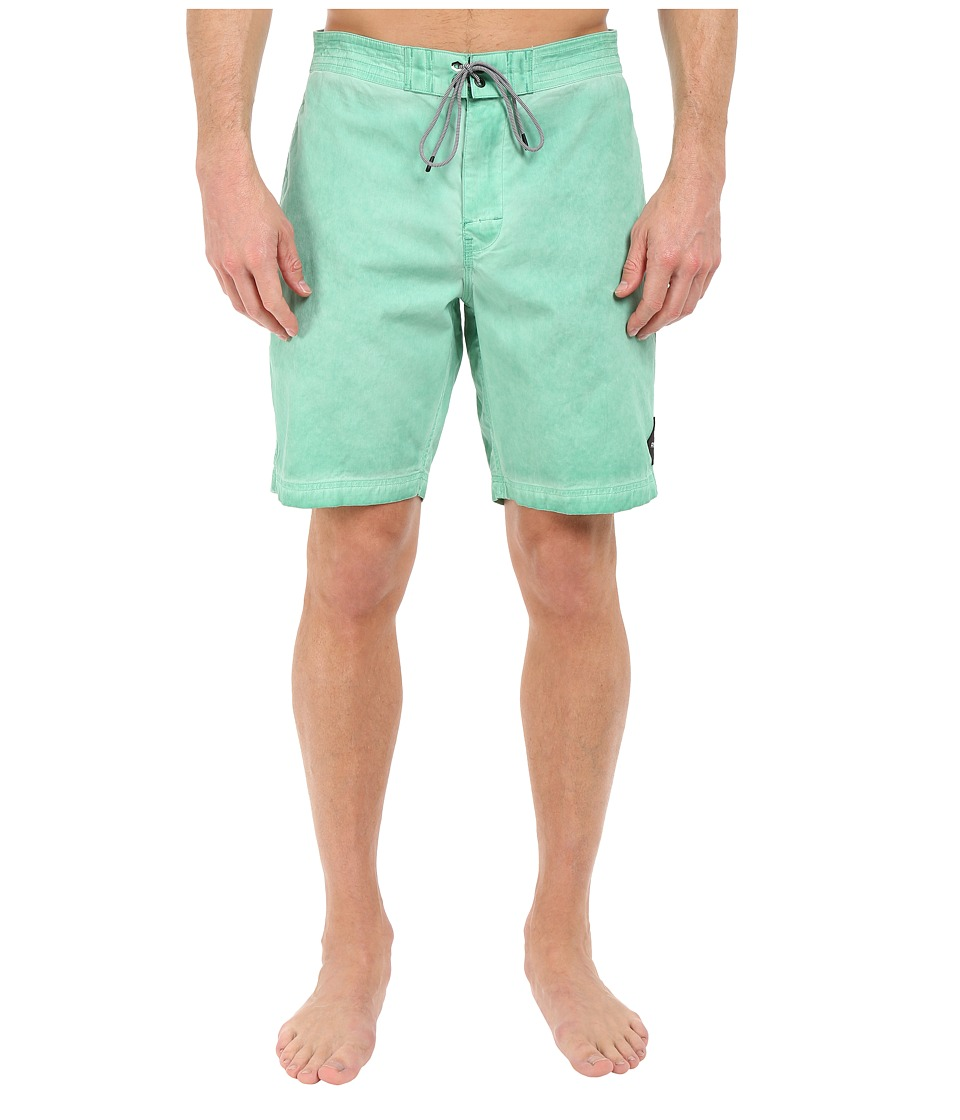 RVCA - Wanderer 19 Trunks (Dusty Jade) Men's Swimwear
