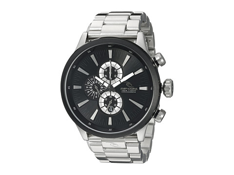 Rip Curl - Recon XL Chrono SSS Watch (Black) Watches
