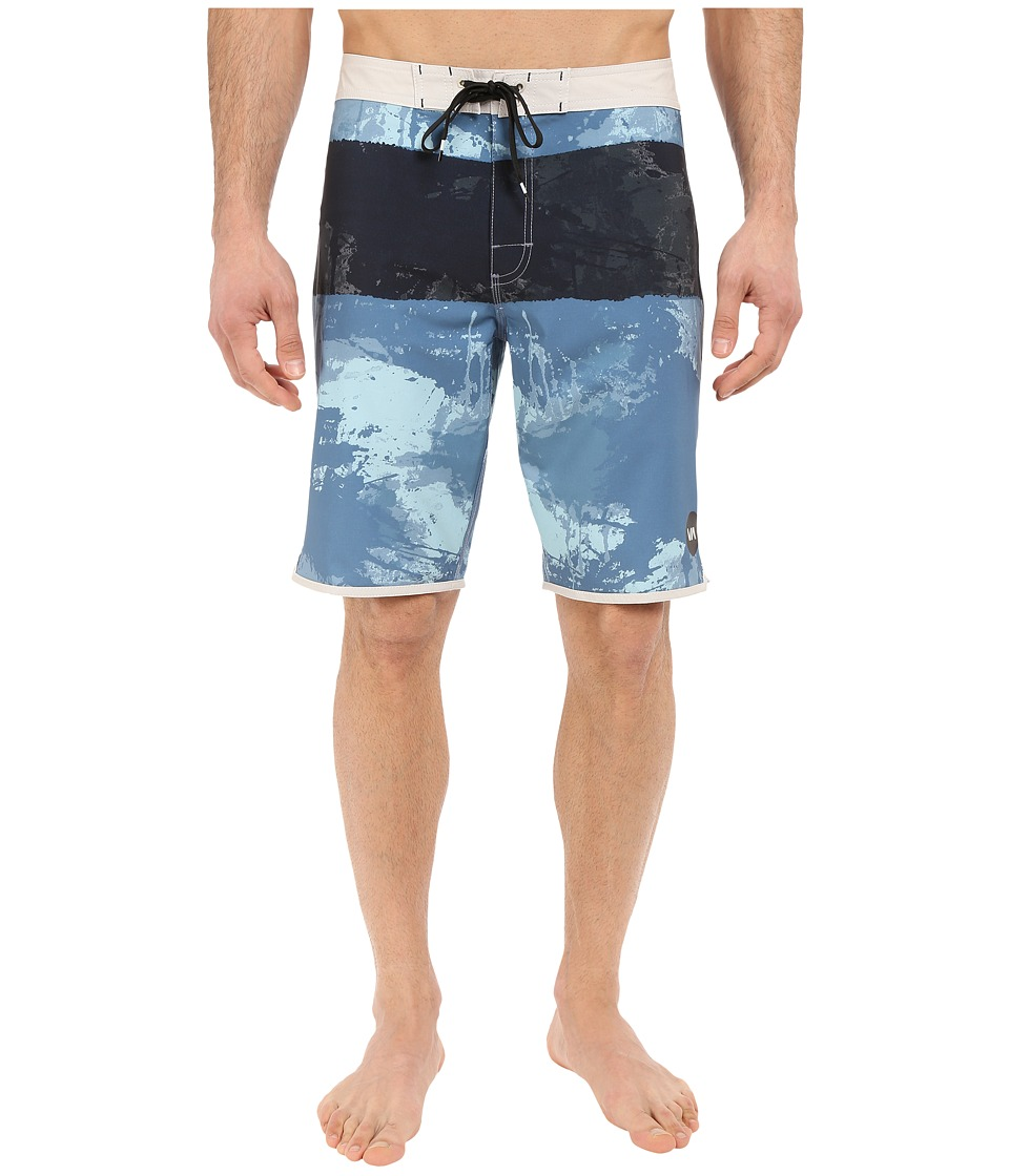 RVCA - Splice Trunks (Blue Grey) Men's Swimwear