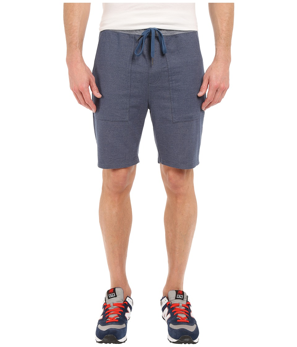 RVCA - Mystic Elastic Sweat Shorts (Denim Blue) Men's Shorts
