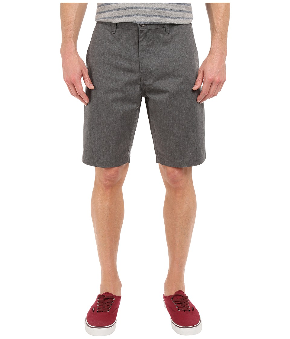 RVCA - The Week-End Shorts (Charcoal) Men's Shorts