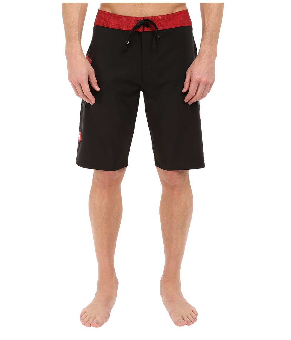 RVCA - Register 20 Boardshorts (Black) Men's Swimwear