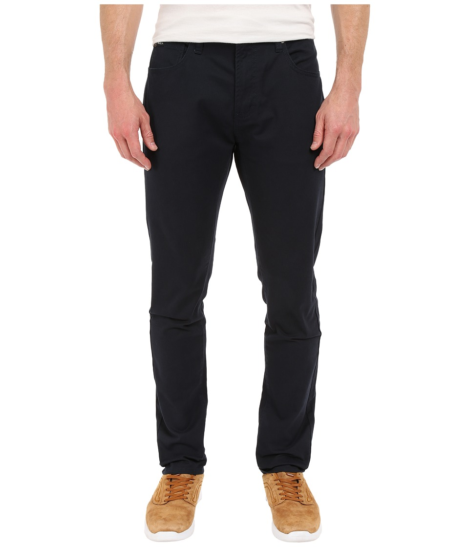 RVCA - Daggers Twill Pants (Carbon) Men's Casual Pants