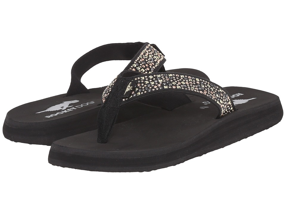 Rocket Dog - Nina Comfort (Black Eclipse) Women's Sandals