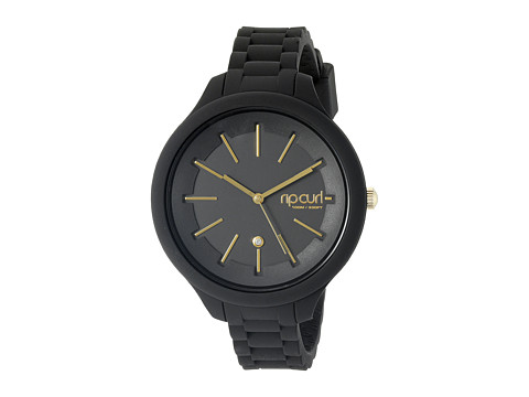 Rip Curl - Alana Horizon Silicone (Black) Watches