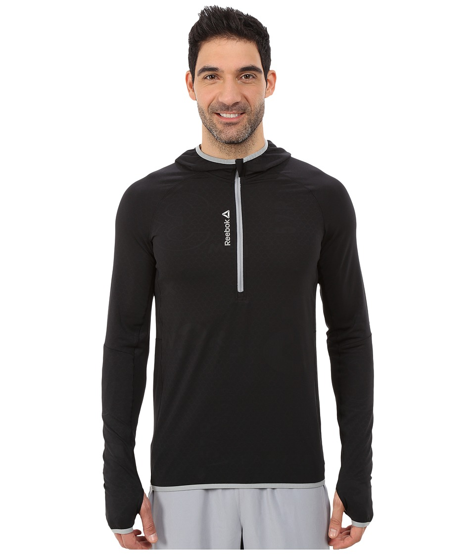 Reebok - ONE Series 1/4 Zip Sweatshirt (Black) Men