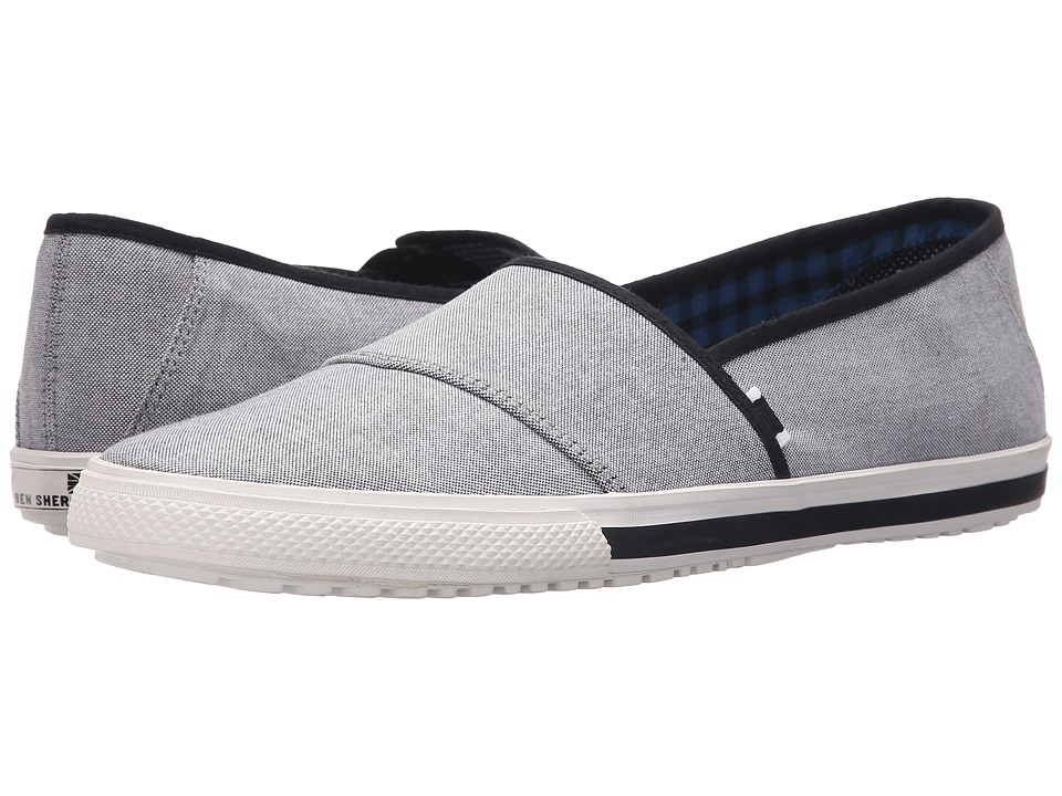 Ben Sherman - Chandler Sport Slide (Black Chambray) Men