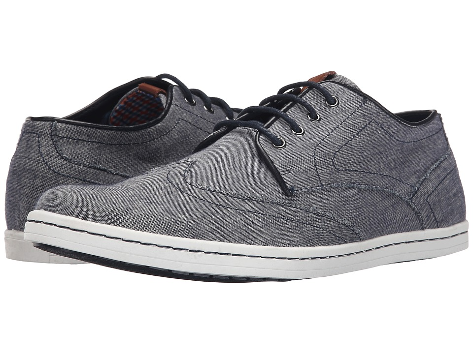 Ben Sherman - Nicholas (Blue Chambray) Men's Shoes