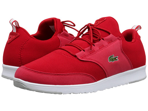 Lacoste - L.ight Piq (Red/Red) Men's Shoes