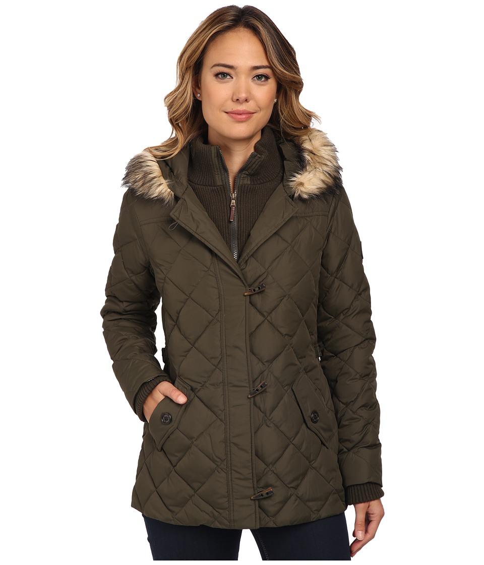 LAUREN Ralph Lauren - Knit Vesty Toggle (Litchfield Loden) Women's Coat