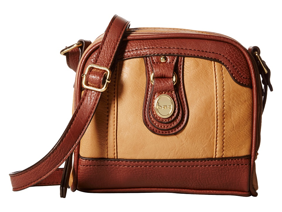 b.o.c. - Ashford Camera Crossbody (Camel/Walnut) Cross Body Handbags
