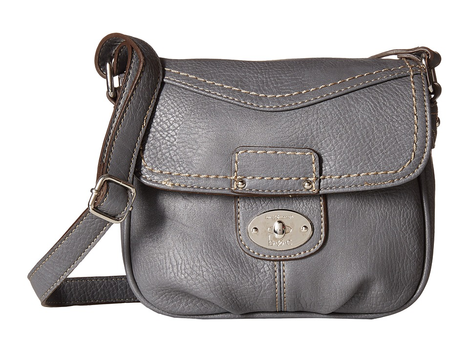 b.o.c. - Waltham Crossbody (Grey) Cross Body Handbags