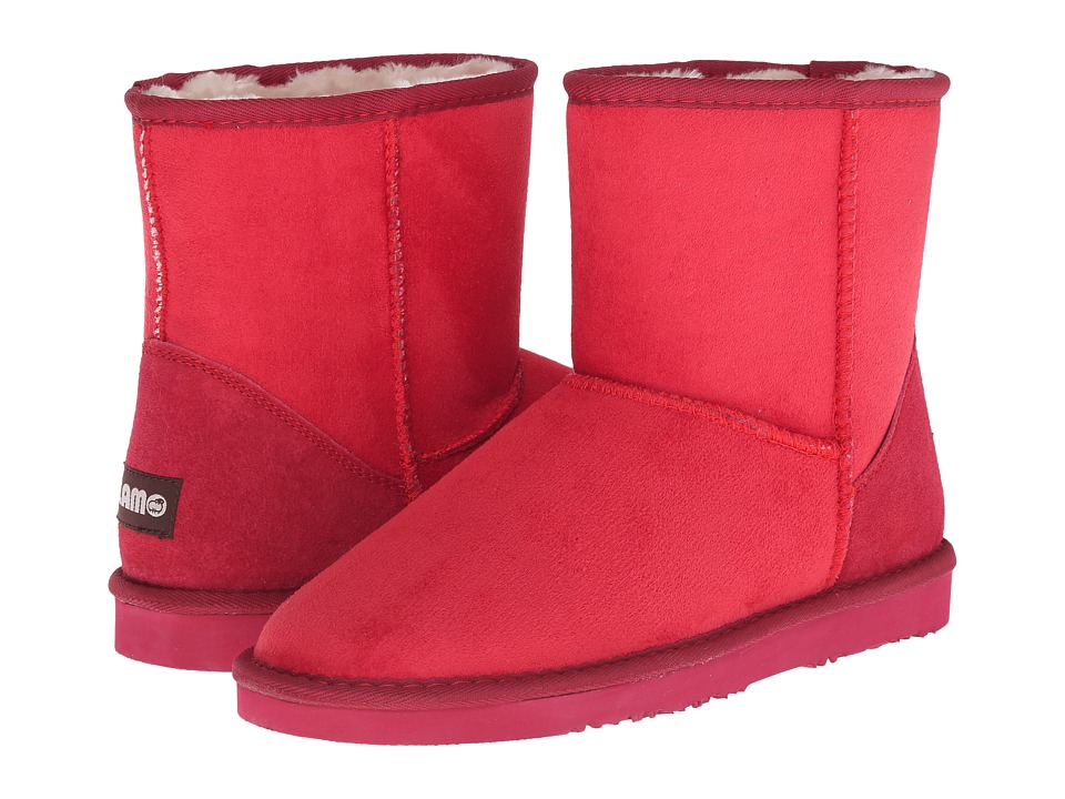 Lamo 6 Inch Boot (Red) Women