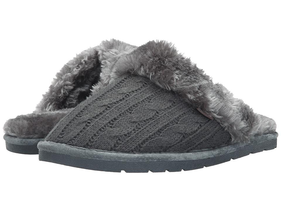 Lamo - Knit Scuff (Charcoal) Women's Shoes