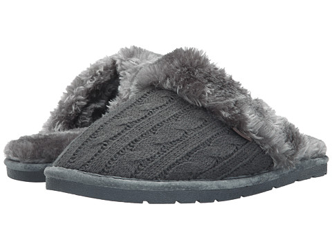Lamo - Knit Scuff (Charcoal) Women