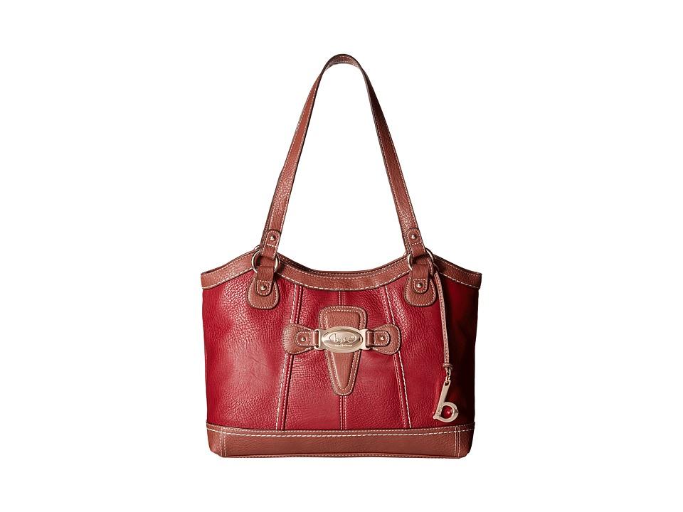 b.o.c. - Holliston Tote (Burgundy) Tote Handbags