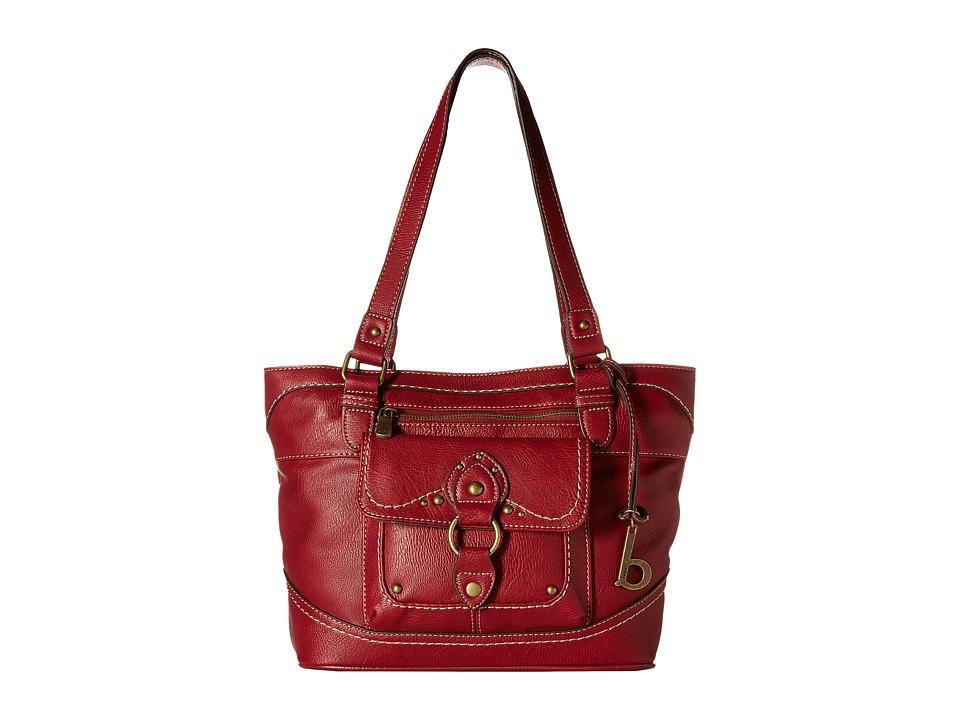 b.o.c. - Sanford Tote (Burgundy) Tote Handbags