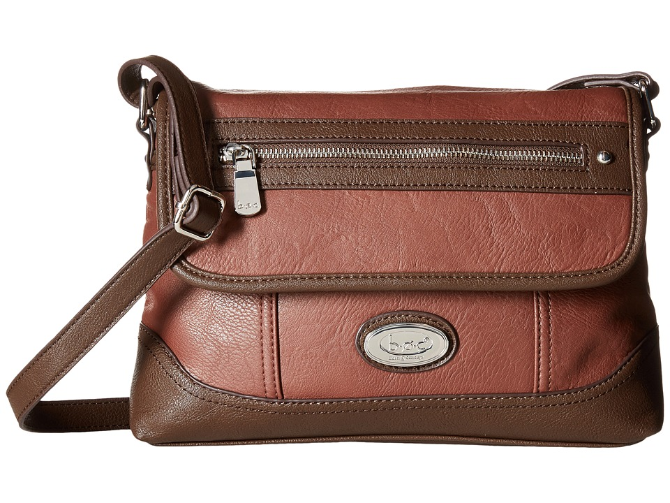 b.o.c. - Brookton Crossbody (Walnut/Walnut) Cross Body Handbags