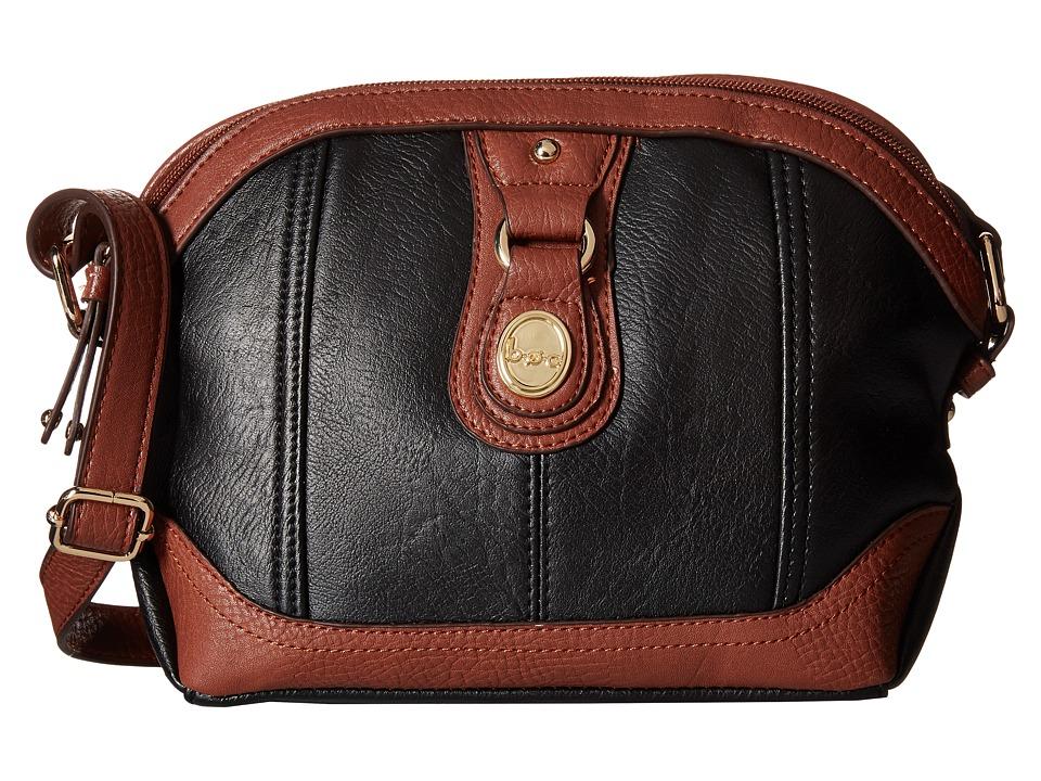 Image of b.o.c. - Ashford Dome Crossbody (Black) Cross Body Handbags