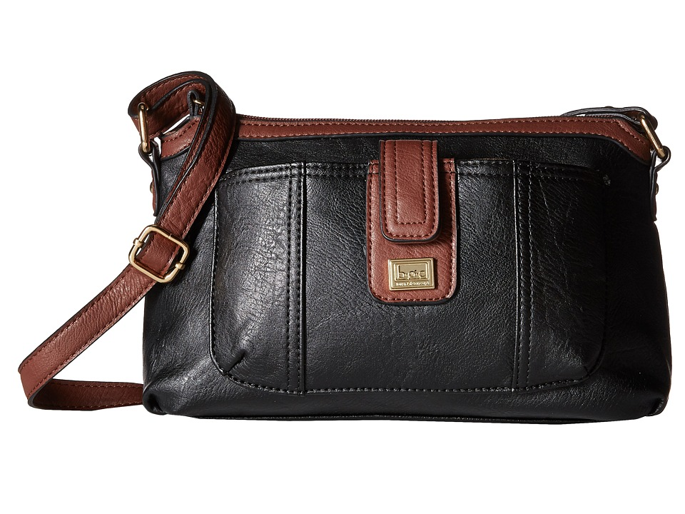 b.o.c. - Merrimac Crossbody w/ Wristlet (Black) Cross Body Handbags