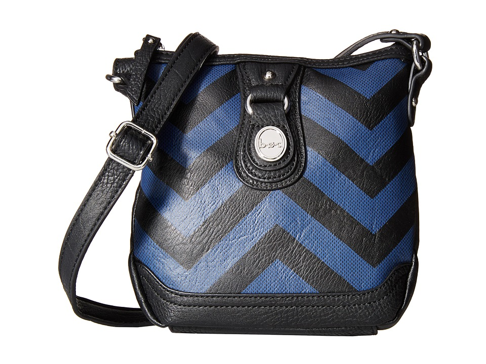 b.o.c. - Swansea Crossbody (Black/Midnight) Cross Body Handbags