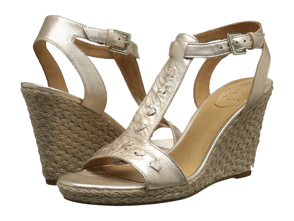 Jack Rogers - Willa (Platinum) Women's Wedge Shoes
