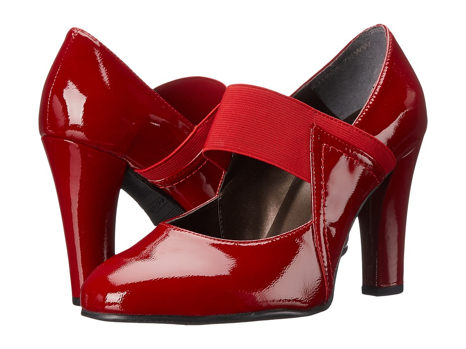 Rose Petals - Anthem (Red Soft Patent/Red Gore) Women